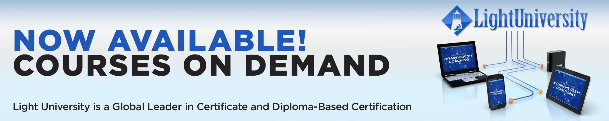 A Leader in Certificate & Diploma Based Christian Counseling