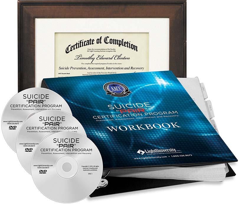 Suicide Pair Certification Program Light University